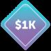 $1000 Image Badge